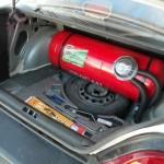 Газовый баллон в машине