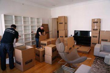Быстрый офисный переезд от фирмы