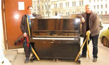 Аккуратная перевозка пианино грузчиками
